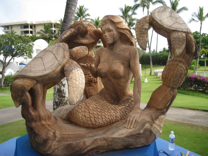 Koa Sculpture