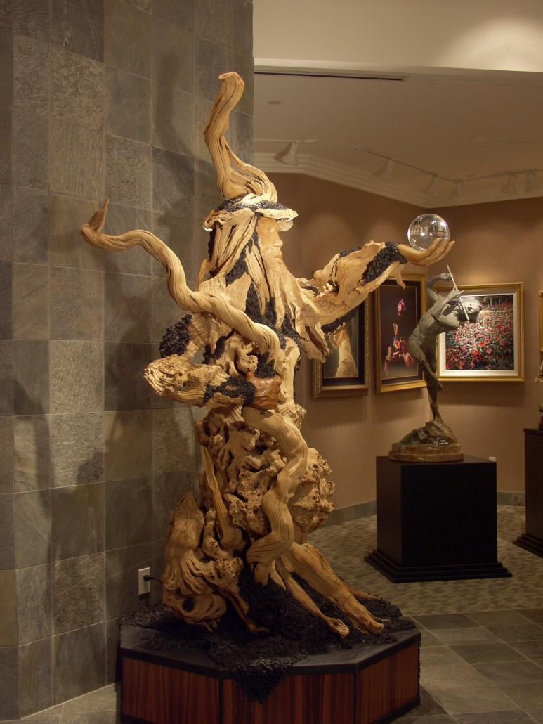 Merlin Sculpture